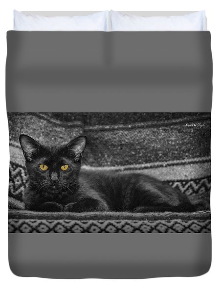House Panther Duvet Cover