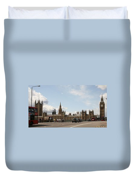 Houses Of Parliament.  Duvet Cover