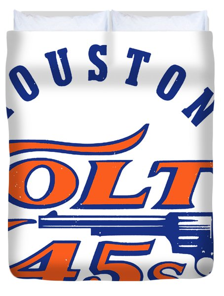 Houston Colt 45s  Duvet Cover