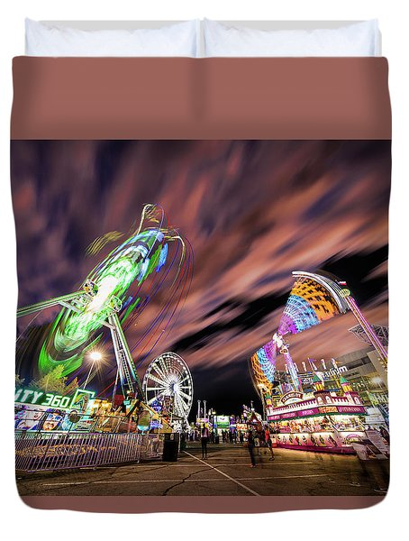 Houston Texas Live Stock Show And Rodeo #1 Duvet Cover