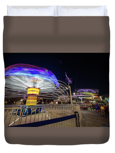 Houston Texas Live Stock Show And Rodeo #10 Duvet Cover
