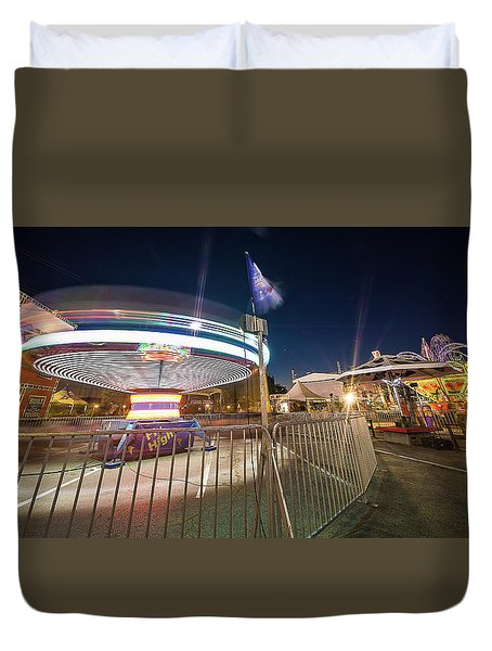 Houston Texas Live Stock Show And Rodeo #11 Duvet Cover