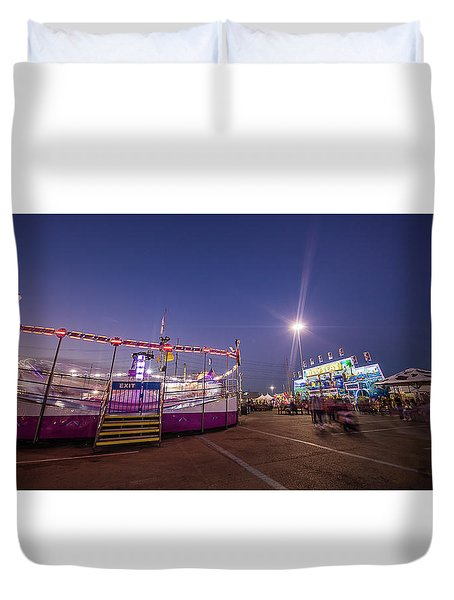 Houston Texas Live Stock Show And Rodeo #12 Duvet Cover