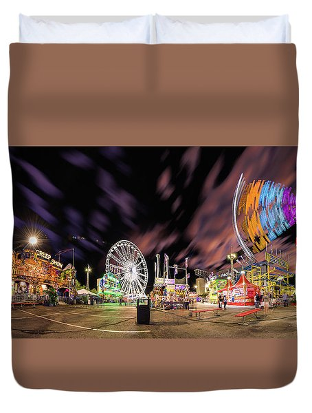 Houston Texas Live Stock Show And Rodeo #4 Duvet Cover