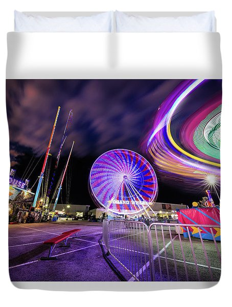 Houston Texas Live Stock Show And Rodeo #6 Duvet Cover