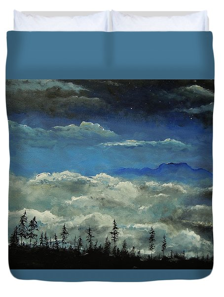 How Majestic Is Your Name Duvet Cover