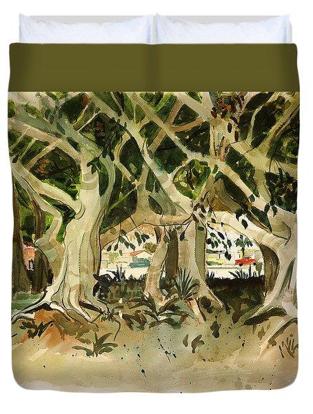 Howley's Banyans Duvet Cover