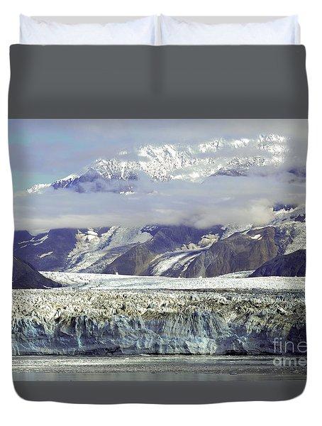Hubbard Glacier Duvet Cover