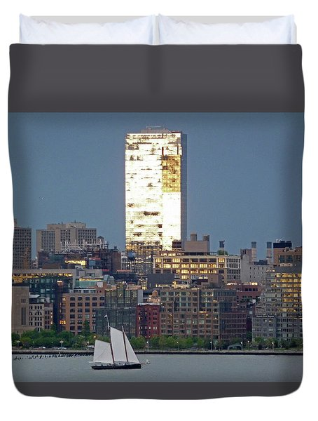 Hudson River Sail Duvet Cover