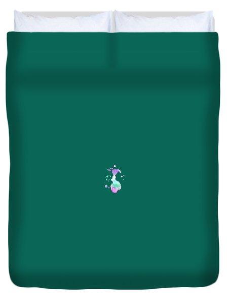 Hues T-shirt Duvet Cover by Herb Strobino