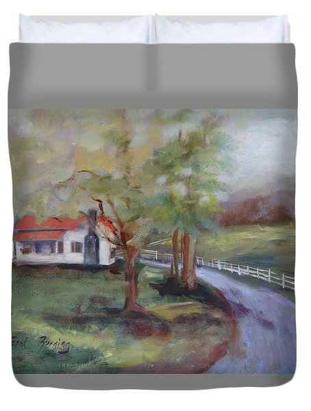 Huff Hollow Duvet Cover by Carol Berning