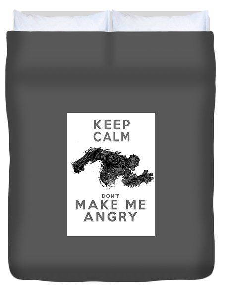 Hulk Keep Calm Duvet Cover