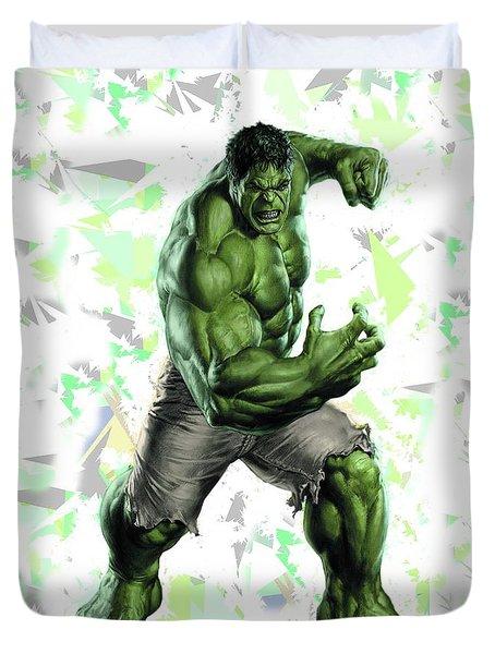Hulk Splash Super Hero Series Duvet Cover