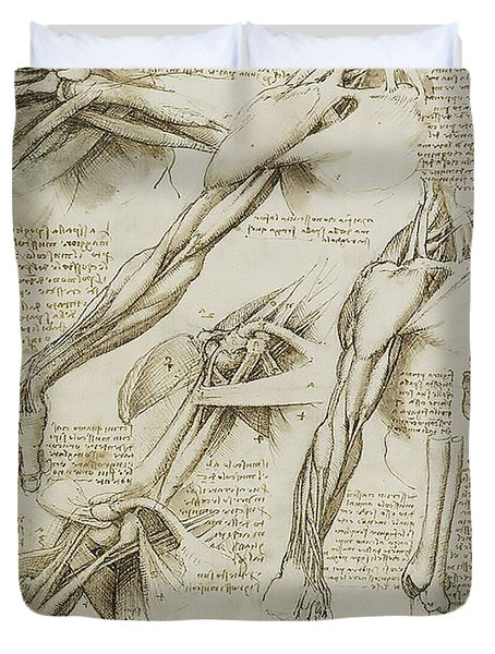 Human Arm Study Duvet Cover