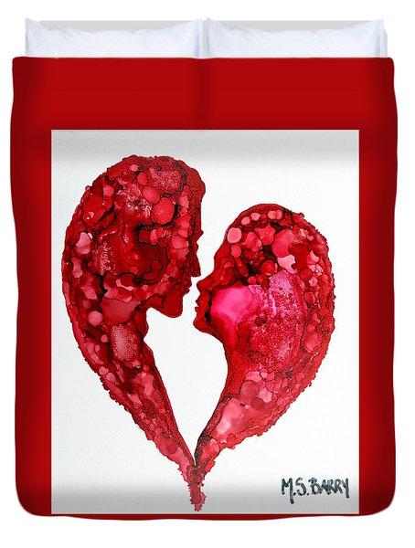 Human Heart Duvet Cover
