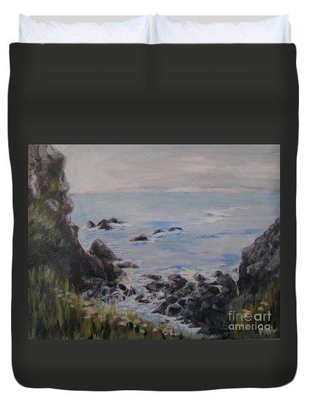 Humboldt Tide Pools Duvet Cover