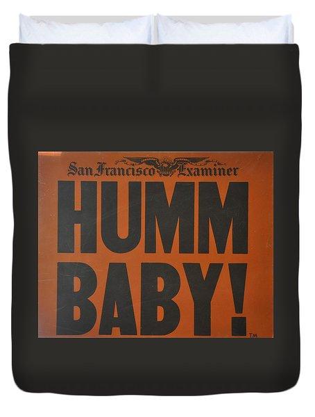 Humm Baby Examiner Duvet Cover