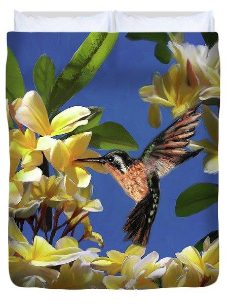 Hummingbird 01 Duvet Cover