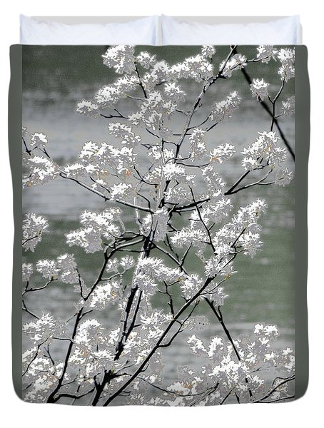 Duvet Cover featuring the photograph Hummingbird by EDi by Darlene