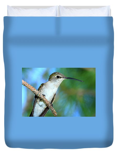 Hummingbird I Duvet Cover