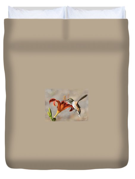 Hummingbird Whisper  Duvet Cover