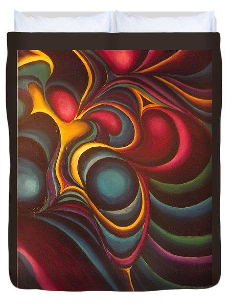 Hummingbirds Duvet Cover by Bernie Bishop