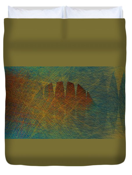 Hump Back Duvet Cover by Constance Krejci