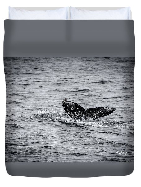 Humpback Whale Tail Duvet Cover