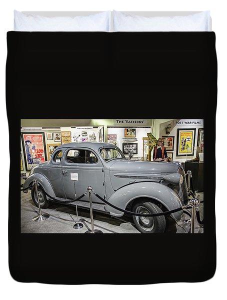 Humphrey Bogart High Sierra Car Duvet Cover