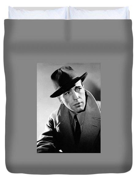 Humphrey Bogart Duvet Cover