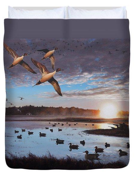 Humphrey Farm Pintails Duvet Cover