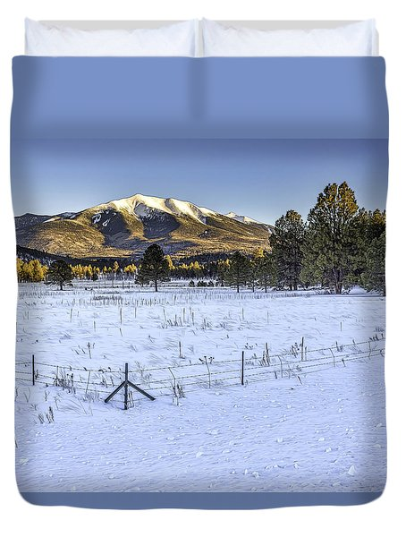 Humphreys Peak Duvet Cover