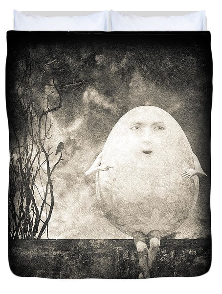 Humpty Dumpty Duvet Cover by Bob Orsillo