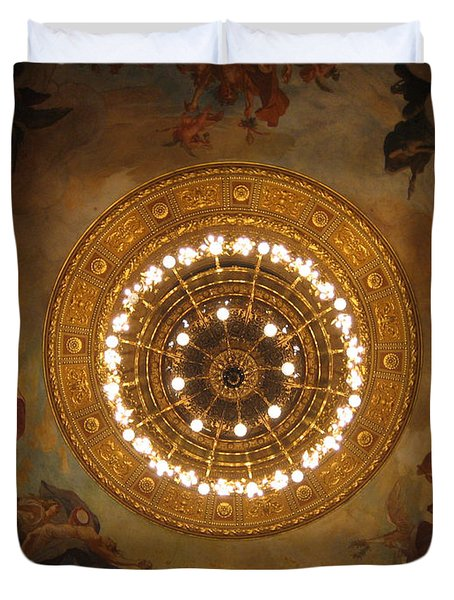 Hungarian State Opera House For Prints Duvet Cover