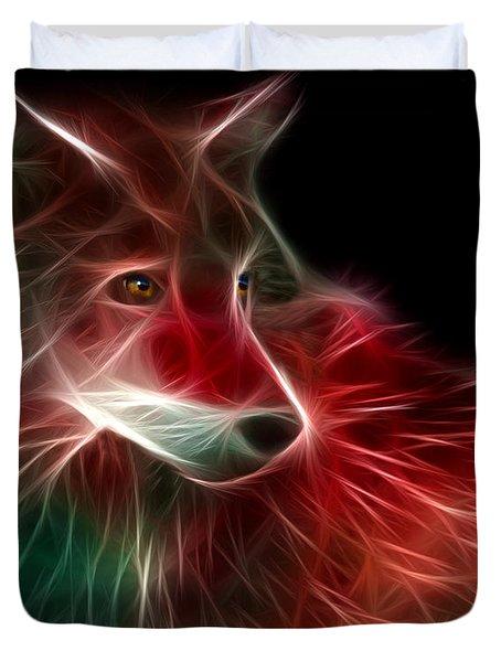 Hunger Prowl Duvet Cover by Peter Piatt
