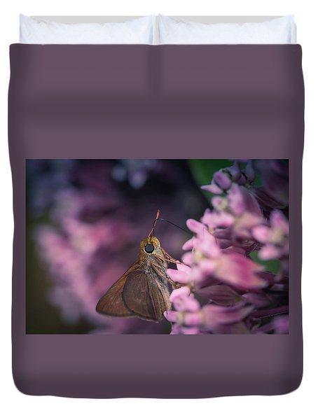 Hungry Moth Duvet Cover