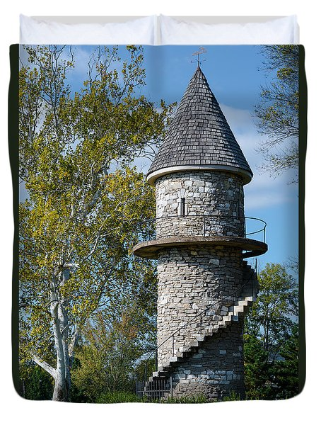 Hunt Club Watchtower Duvet Cover