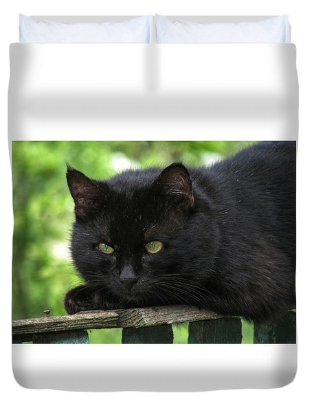 Hunter.  Duvet Cover