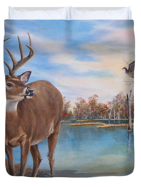 Hunters Dream Sold Duvet Cover