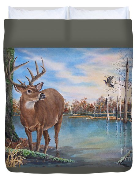 Hunters Dream Sold Duvet Cover