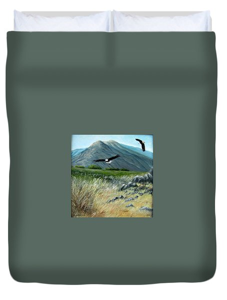 Hunting Duvet Cover