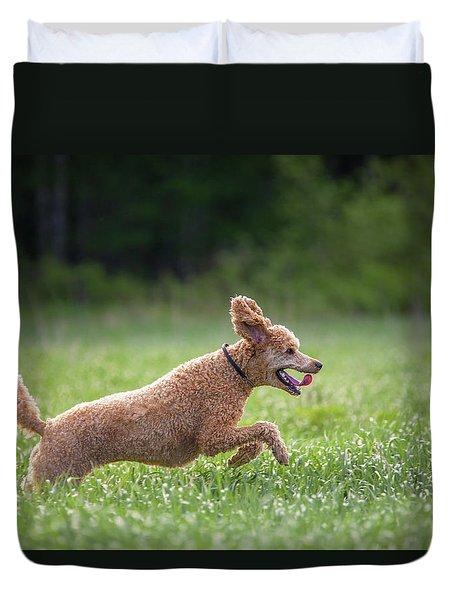 Hunting Dog Duvet Cover by Teemu Tretjakov