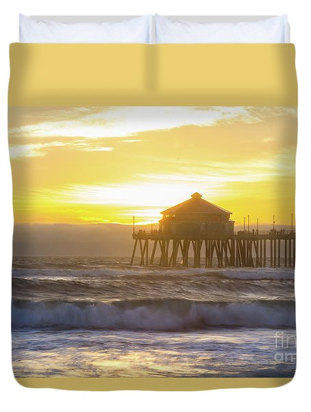 Huntington Peir 2 Duvet Cover