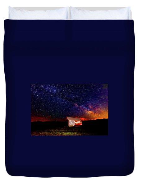 Huntsville Barn Duvet Cover