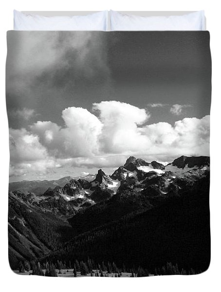 Hurricane Ridge Duvet Cover