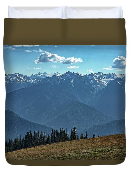 Hurricane Ridge Duvet Cover