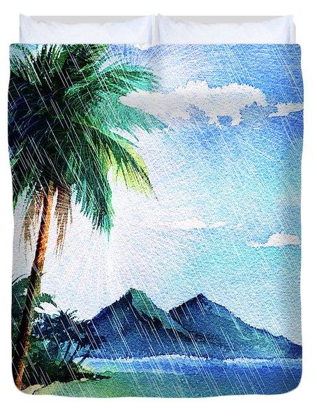 Hurricane Season Duvet Cover