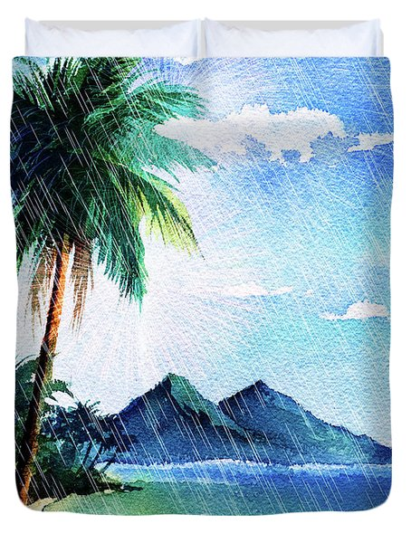 Hurricane Season Duvet Cover