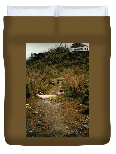 Hurricane12 Duvet Cover