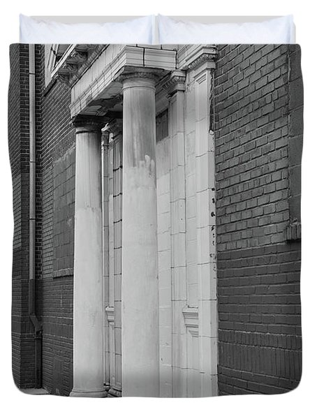 Hurst House Door Duvet Cover